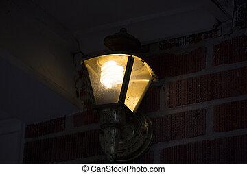 licht, portiek