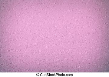 licht, violet/purple, achtergrond, met, ronde, organisch,...