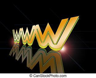 licht, www, blitz