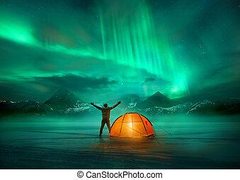 lichten, avontuur, noordelijk