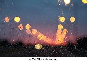lichten, snelweg