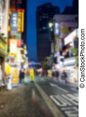 lichten, straat