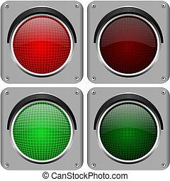 lichten, verkeer