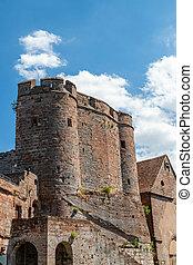 Lichtenberg castle, in the Vosges