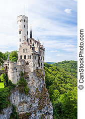Lichtenstein castle in germany - Beautiful lichtenstein...