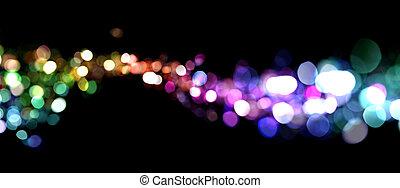 lichter, abstrakt