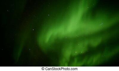 Lichter, arktisch, himmelsgewölbe, nördlich