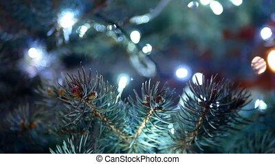 lichter, baum, weihnachten