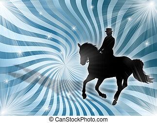 lichter, equitation