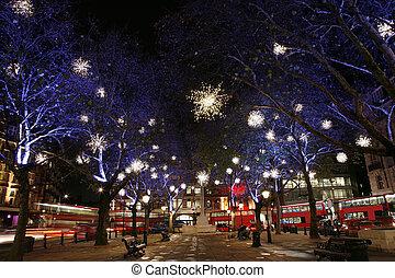 lichter, london, weihnachten