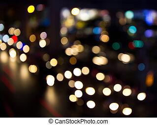 lichter, nacht, stadt