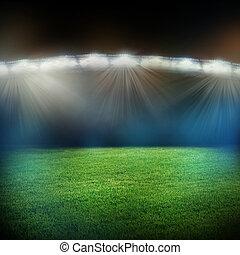 lichter, stadion, blitze