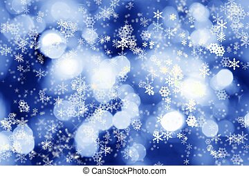 lichter, winter, hintergrund