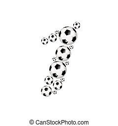 liczba 1, piłka nożna