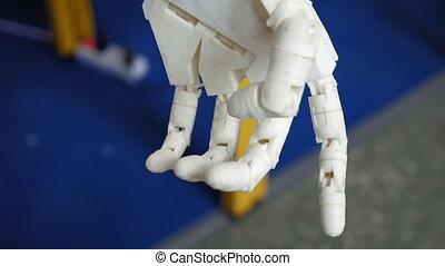 lid, robotachtig, prosthetic wapenen
