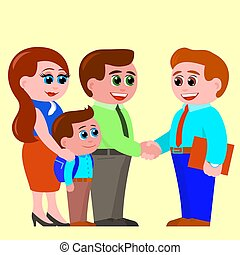 liden, bekendt, få, teacher., skole, søn, forældre