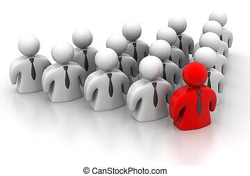 lider, pojęcie, przewodnictwo, drużyna