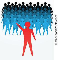 liderança, conceitos
