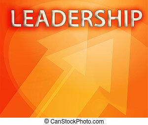 liderança, ilustração