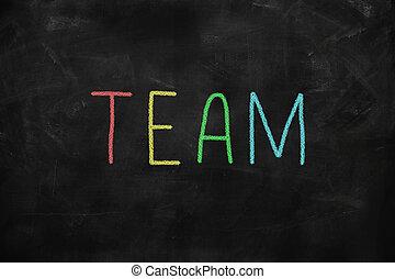 liderazgo, concepto, -, equipo