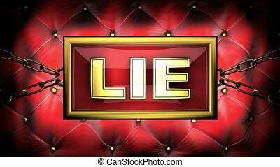 lie  on velvet background