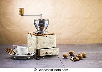 lieb, cantuccini, schleifer, italienesche, plätzchen, bohnenkaffee