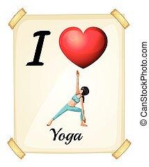 liebe, joga
