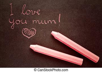 liebe, mama
