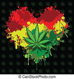 liebe, marihuana
