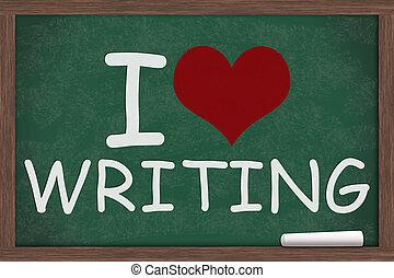 liebe, schreibende