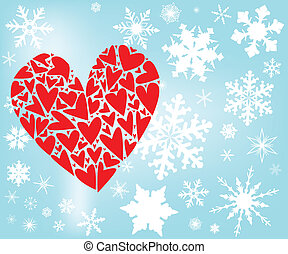 liebe, winter