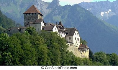 Liechtenstein Castle in Vaduz, Liechtenstein.