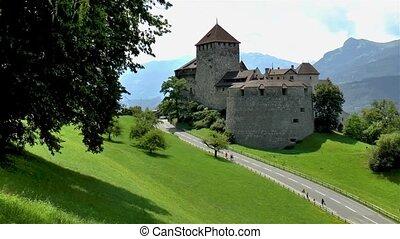 liechtenstein, castle.