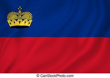 Liechtenstein flag - Liechtenstein national flag background ...