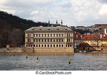 Liechtenstein Palace Prague - view at the Liechtenstein ...
