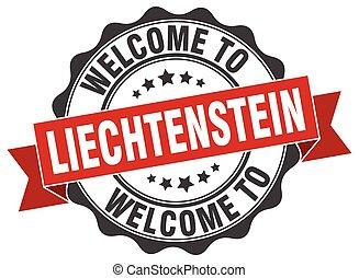 Liechtenstein round ribbon seal