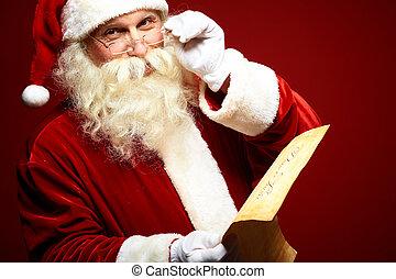lief, claus, kerstman