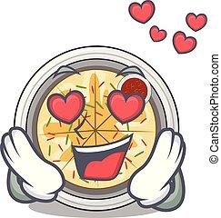 liefde, buchimgae, vrijstaand, mascotte