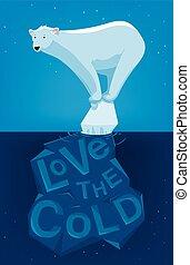 liefde, de, koude