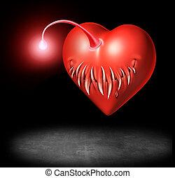 liefde, gevaar