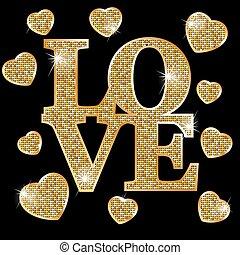 liefde, goud, brieven