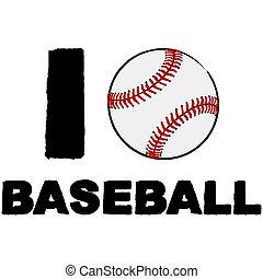 liefde, honkbal