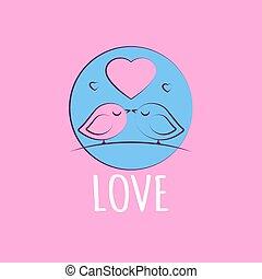 liefde, kaart