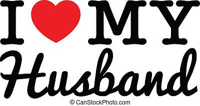 liefde, mijn, echtgenoot