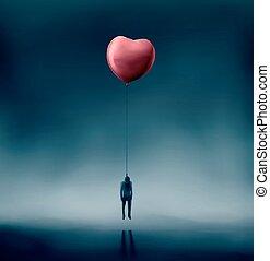 liefde, ongelukkig