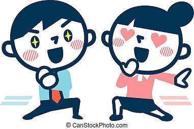 liefde, paar