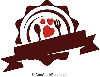 liefde, serveren - opdienen