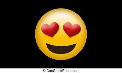 liefde, smiley