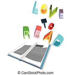 liefde, te lezen