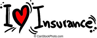 liefde, verzekering